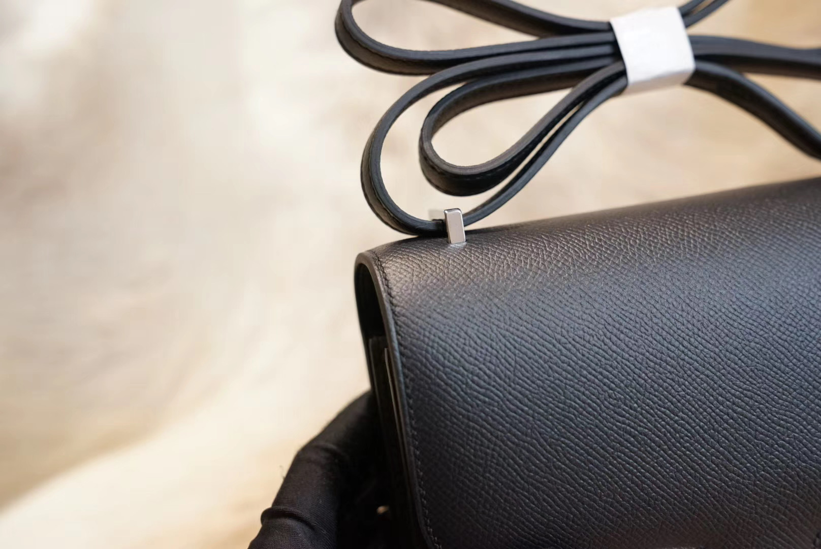 Constance CK89黑色 小康19 原厂Epsom皮 法国蜡线 全手缝